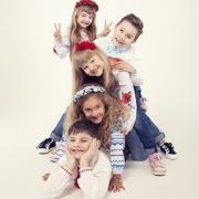 фотографии детей на белом фоне в вышиванках