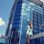 фотосессия возде гостиницы Харьков палас, крутые фото