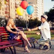 фотосессия влюбленной пары на харьковской набережной