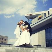 свадебные фотосессии возле харьков паласа